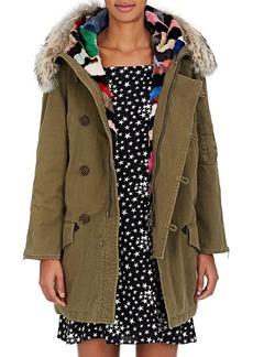 Yves Saint Laurent Saint Laurent Women's Fur-Trimmed & -Lined Parka