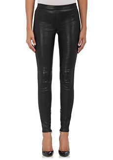 Saint Laurent Women's Leather Leggings