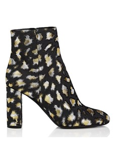 Yves Saint Laurent Saint Laurent Women's Loulou Jacquard Ankle Boots