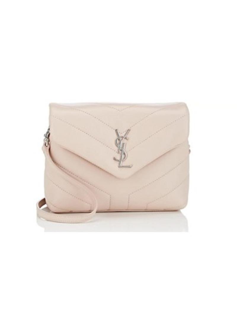 19feee7d4049 Saint Laurent Women s Monogram Loulou Toy Leather Shoulder Bag - Pink