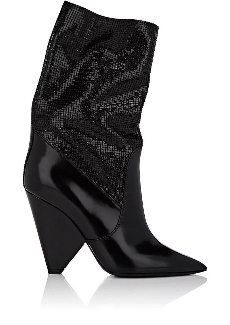 be826f950ae Saint Laurent Saint Laurent Women's Niki Leather Ankle Boots   Shoes