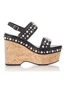 Yves Saint Laurent Saint Laurent Women's Studded Candy Slingback Platform Sandals