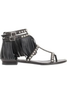 Yves Saint Laurent Saint Laurent Women's Studded Fringe Cyuko Sandals