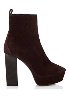 Yves Saint Laurent Saint Laurent Women's Vika Suede Ankle Boots