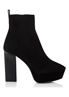 Yves Saint Laurent Saint Laurent Women's Vika Suede Ankle Boots