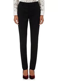 Saint Laurent Women's Wool Slim Trousers