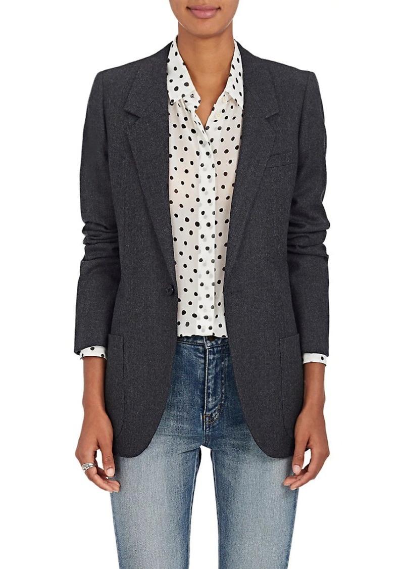 7c64769ef71 On Sale today! Saint Laurent Saint Laurent Women's Wool Twill One ...