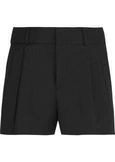 Yves Saint Laurent Saint Laurent Wool-gabardine shorts