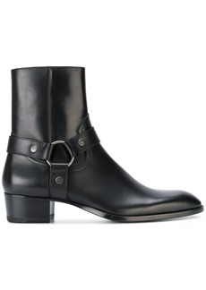 Yves Saint Laurent Wyatt 40 harness boots