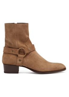 Yves Saint Laurent Saint Laurent Wyatt 40 suede boots