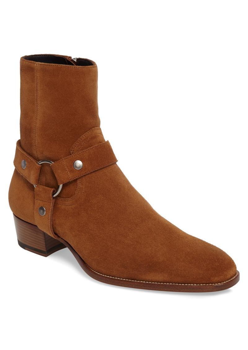 90078c12492 Yves Saint Laurent Saint Laurent Wyatt Harness Boot (Men) | Shoes