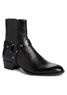 Yves Saint Laurent Saint Laurent Wyatt Harness Boot (Men)