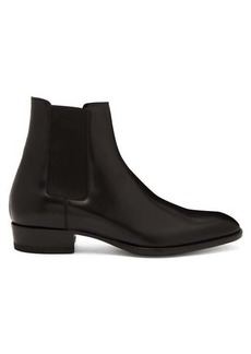 Yves Saint Laurent Saint Laurent Wyatt leather chelsea boots