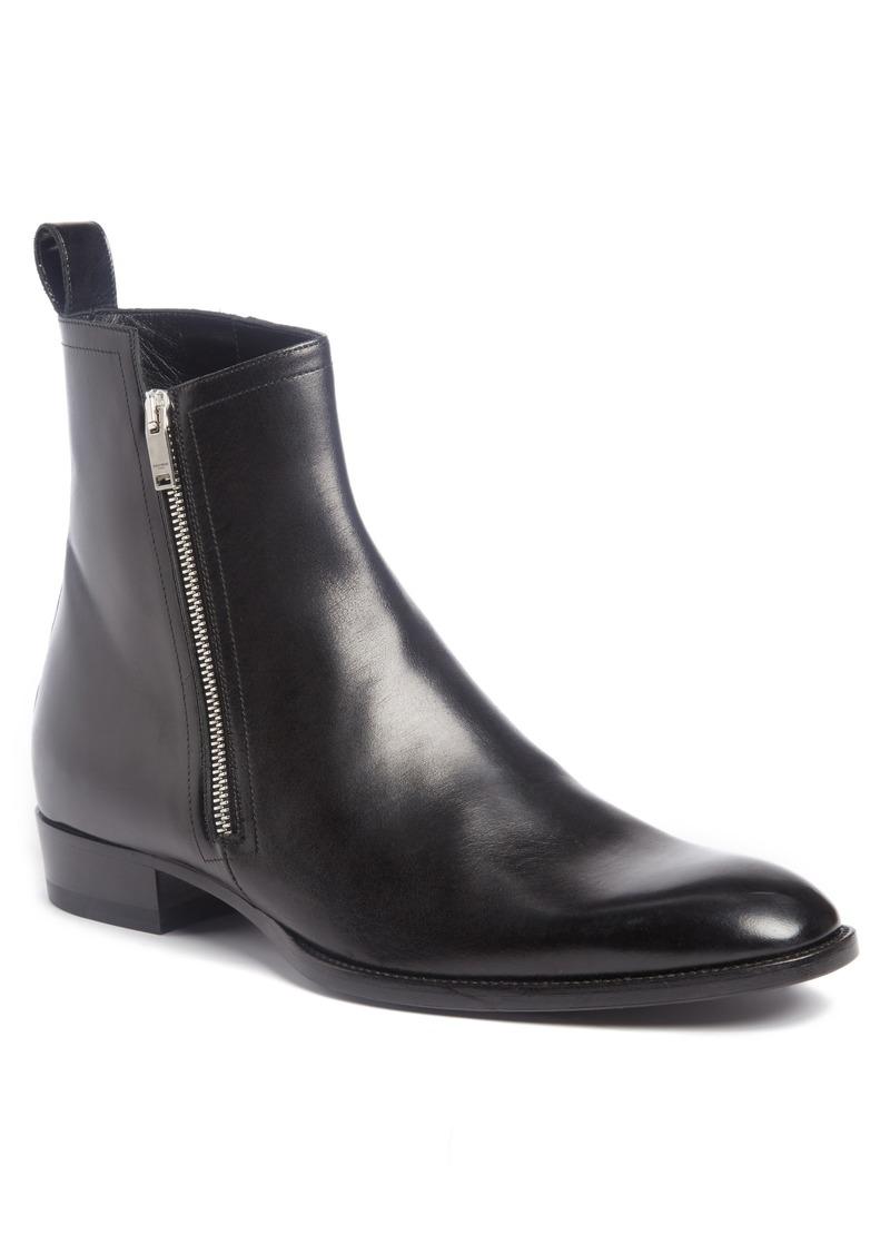 6d77c879ba Saint Laurent Wyatt Side Zip Boot (Men)