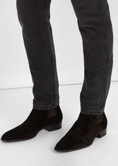a39e6ffab90a Yves Saint Laurent Saint Laurent Wyatt suede chelsea boots