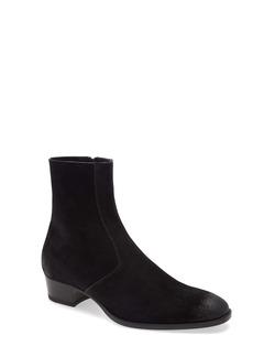Yves Saint Laurent Saint Laurent Wyatt Zip Boot (Men)