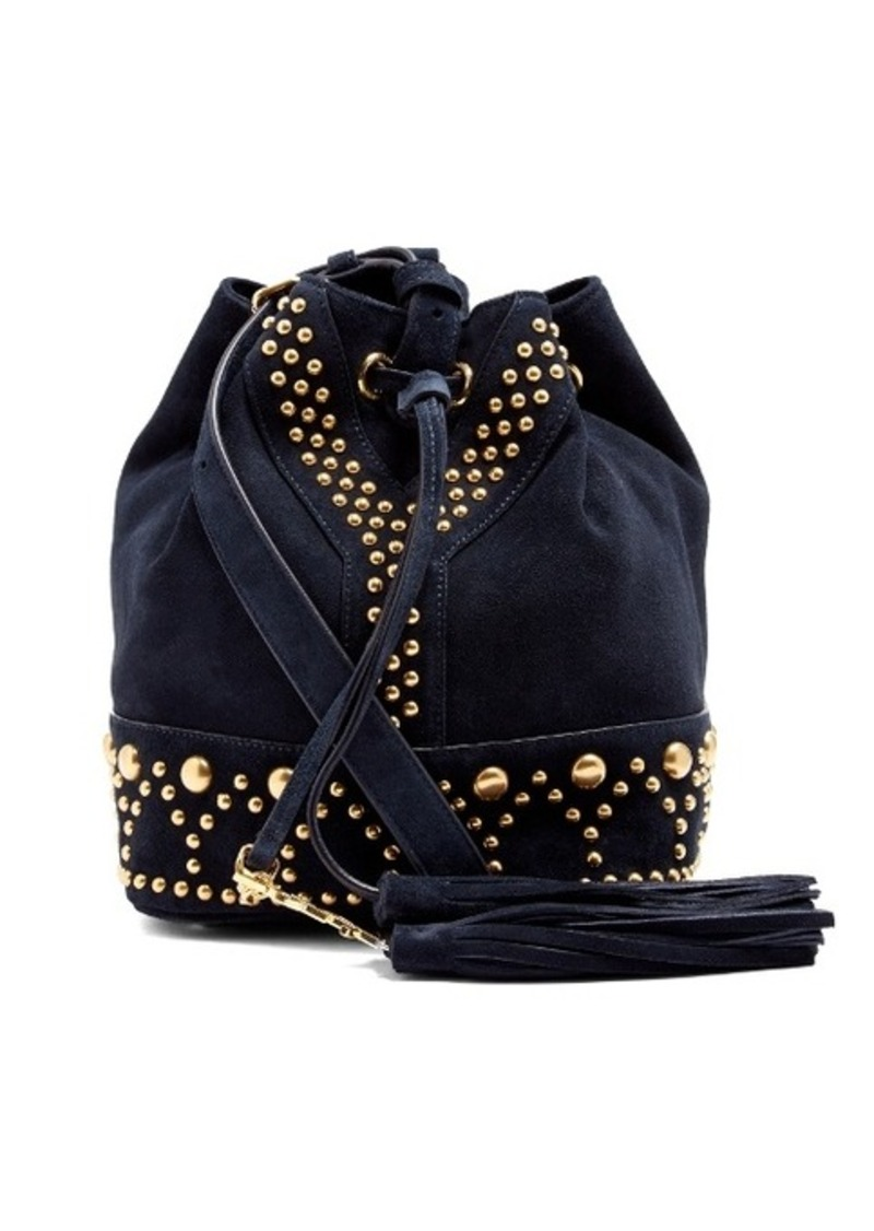 Saint Laurent Saint Laurent Y-Studs suede bucket bag  178e33f213dee