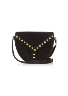 Yves Saint Laurent Saint Laurent Y-Studs suede cross-body bag