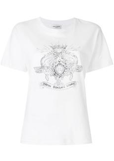Yves Saint Laurent Saint Laurent Young Romance League T-shirt - White