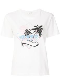 Yves Saint Laurent Saint Laurent Young Romance T-shirt - White