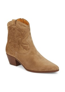 Yves Saint Laurent Saint Laurent YSL Western Suede Booties