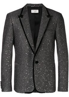 Yves Saint Laurent sequin embroidered blazer