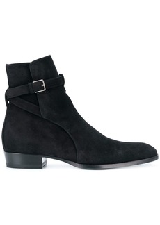 Yves Saint Laurent Signature Wyatt 30 Jodhpur boots