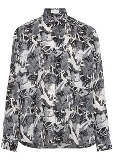 Yves Saint Laurent Silk Antique Greek Shirt