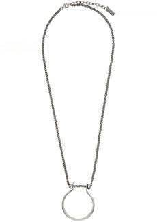 Yves Saint Laurent Silver Tribal Necklace
