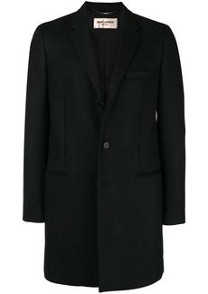 Yves Saint Laurent single breasted coat