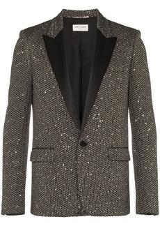 Yves Saint Laurent sequin blazer
