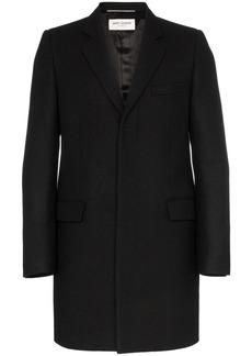 Yves Saint Laurent single-breasted wool coat