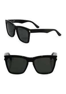 SL 137 Devon 55MM Square Sunglasses