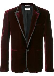 Yves Saint Laurent slim velvet blazer