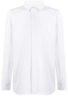 Yves Saint Laurent spread collar shirt