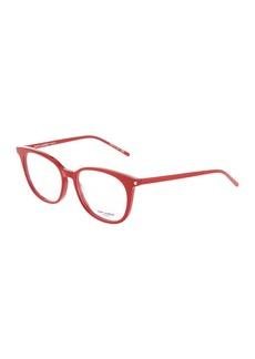 Yves Saint Laurent Square Plastic Optical Glasses