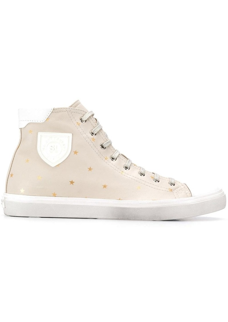 Yves Saint Laurent star high-top sneakers