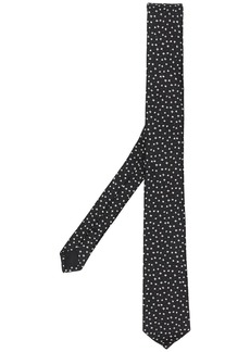 Yves Saint Laurent star jacquard tie