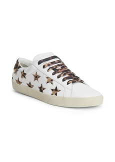 Yves Saint Laurent Star Leather Low Top Sneakers
