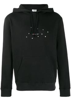 Yves Saint Laurent star logo hoodie