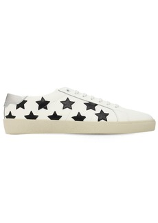 Yves Saint Laurent Stars Leather Sneakers