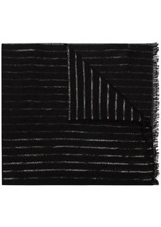 Yves Saint Laurent stripe-pattern scarf