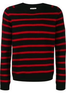 Yves Saint Laurent striped knitted jumper