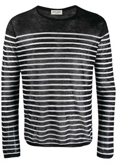 Yves Saint Laurent striped knitted sweater
