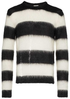 Yves Saint Laurent striped long sleeved sweater