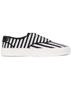 Yves Saint Laurent striped low-top sneakers
