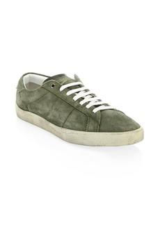Yves Saint Laurent Suede Low Sneakers