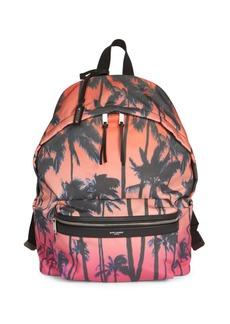 Yves Saint Laurent Sunset Palm City Backpack