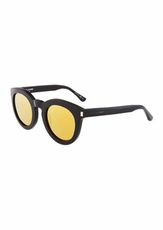 Saint Laurent Surf Unisex Chunky Round Plastic Sunglasses