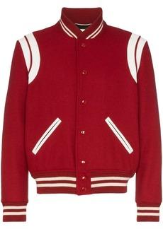 Yves Saint Laurent Teddy varsity jacket